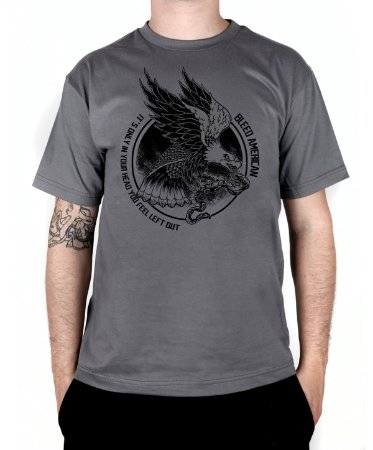 Camiseta Bleed American Eagle  Chumbo