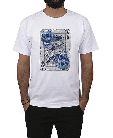 Camiseta Bleed American Death Card Branca