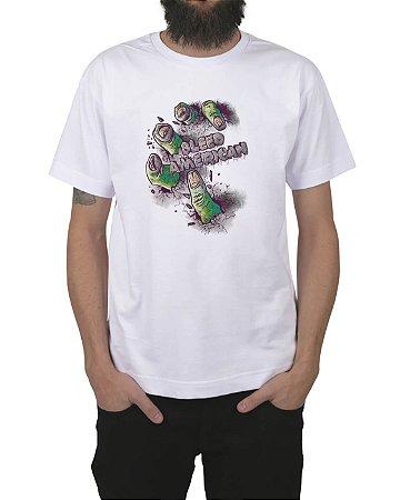 Camiseta Bleed American Zombie Branca