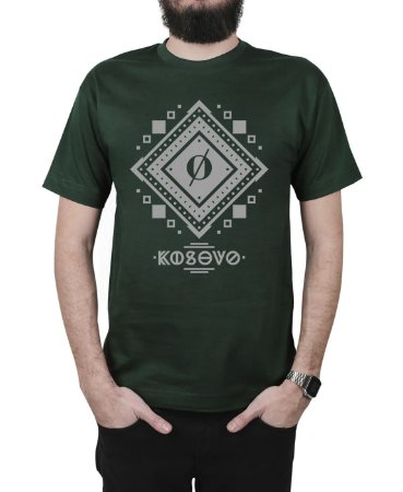 Camiseta Kosovo Shackquad Musgo