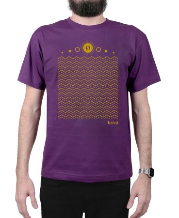 Camiseta Kosovo Waves Roxa