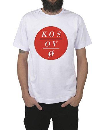 Camiseta Kosovo Circles Branca