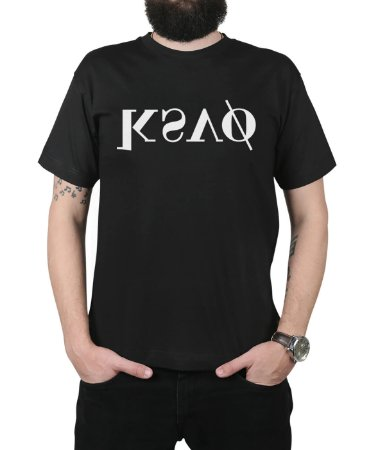 Camiseta Kosovo KSVO Preta