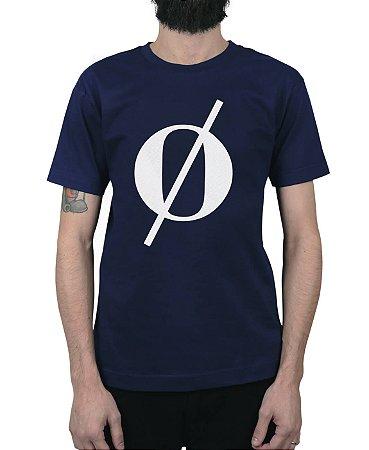 Camiseta Kosovo Vintage Logo Marinho