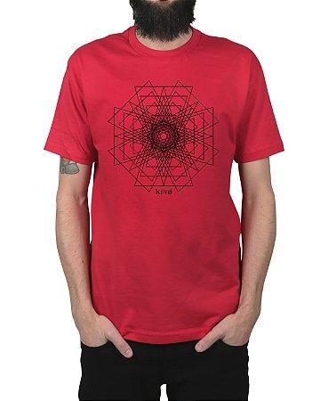 Camiseta Kosovo Pyramid Vermelha