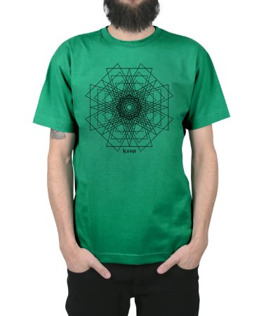 Camiseta Kosovo Pyramid Bandeira