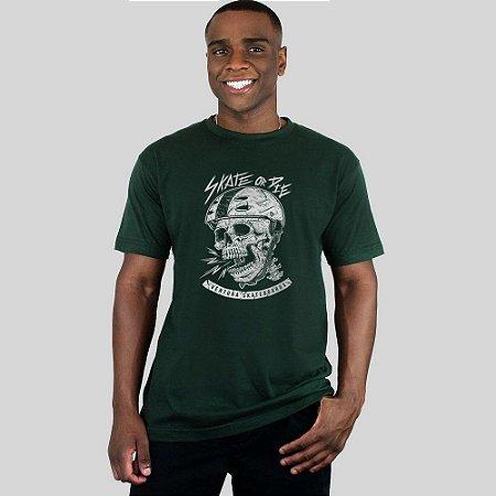Camiseta Ventura Skate Or Die Musgo
