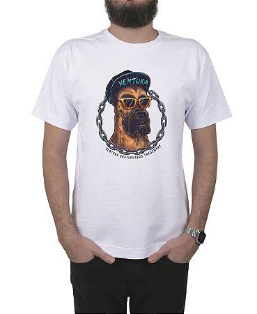 Camiseta Ventura Scooby Dog Branca