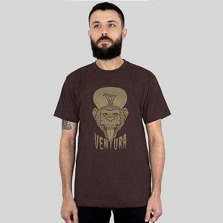 Camiseta Ventura Ape Marrom