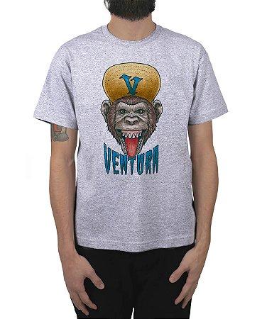 Camiseta Ventura Ape Cinza Mescla
