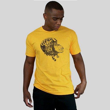 Camiseta Ventura Planet Of Monkys Amarela