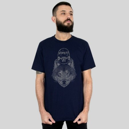 Camiseta Ventura Wolfskater Marinho