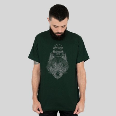 Camiseta Ventura Wolfskater Musgo