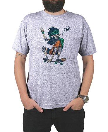 Camiseta Ventura Jamon Cinza Mescla