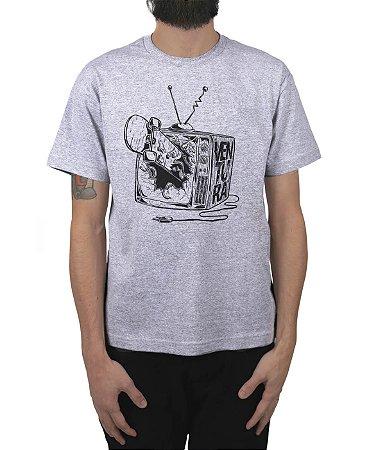Camiseta Ventura Damage Cinza Mescla