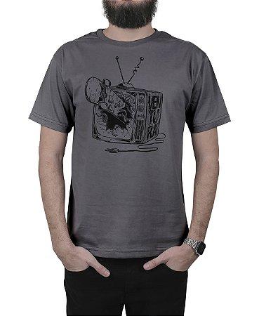 Camiseta Ventura Damage Chumbo