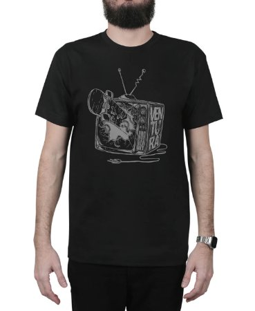 Camiseta Ventura Damage Preta