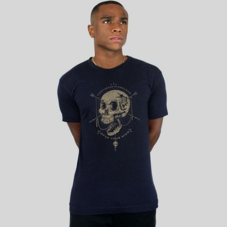 Camiseta Ventura Open Your Mind Marinho