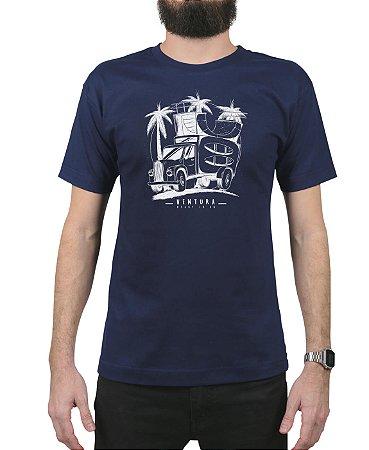 Camiseta Ventura Skate Truck Marinho