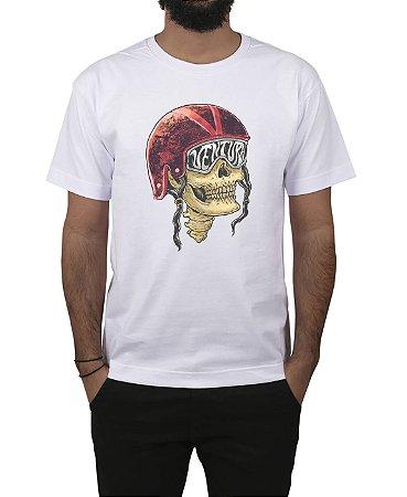 Camiseta Ventura Skull Captain Branca
