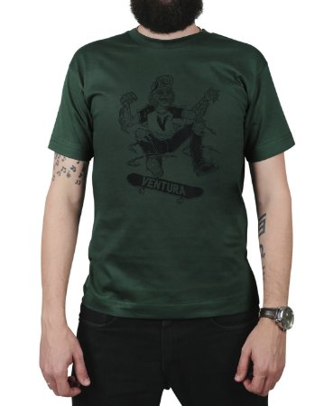 Camiseta Ventura Ness Musgo