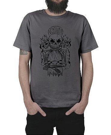 Camiseta Ventura Hellskater Chumbo