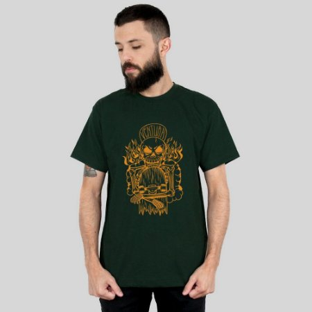 Camiseta Ventura Hellskater Musgo
