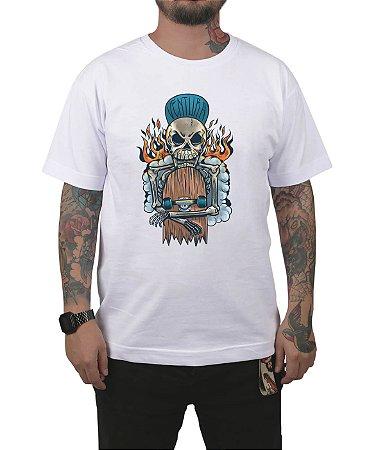 Camiseta Ventura Hellskater Branca