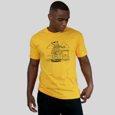 camiseta Ventura Polarbears Amarela