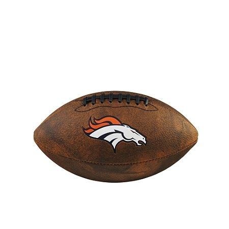 Bola de Futebol Americano NFL Throwback Denver Broncos