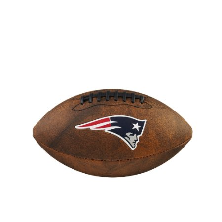Bola de Futebol Americano NFL Throwback New England Patrios