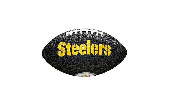 Bola de Futebol Americano NFL Black Pittsburgh Steelers