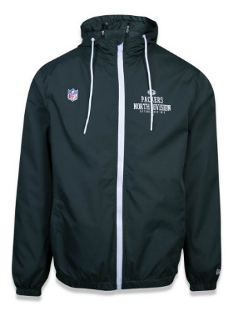 Jaqueta Windbreak NFL Green Bay Packers Verde