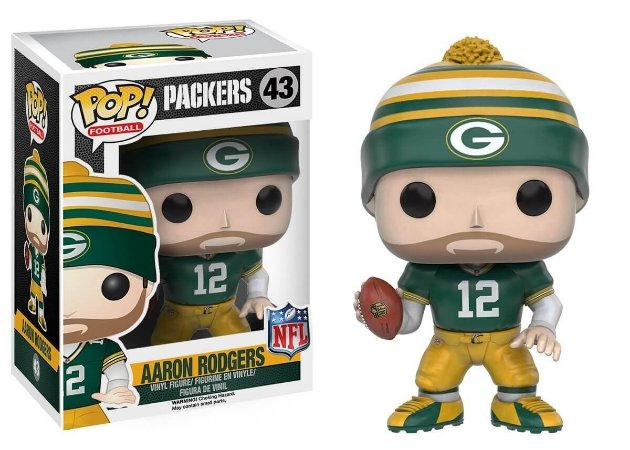 Funko POP! NFL - Aaron Rodgers #43 - Green Bay Packers