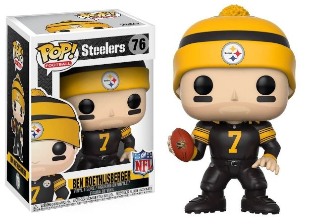 Funko POP! NFL - Ben Roethlisberger Color Rush - Pittsburgh Steelers #76