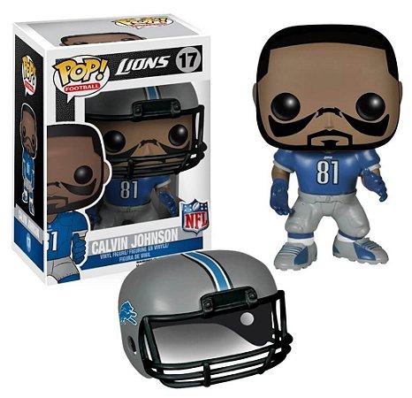 Funko POP! NFL - Calvin Johnson #17 - Detroit Lions