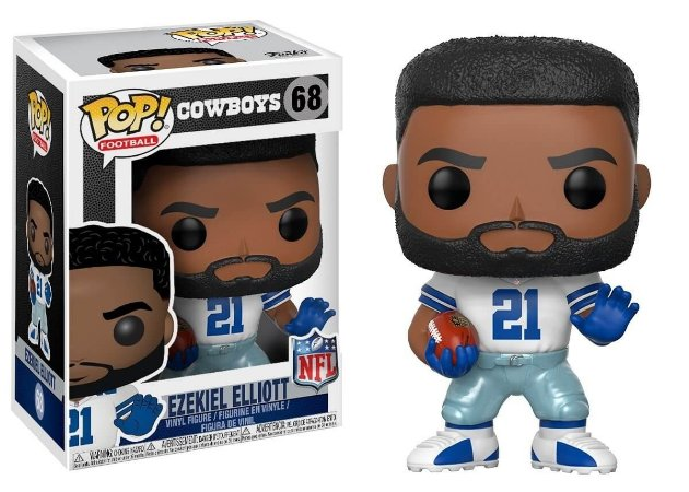 Funko POP! NFL - Ezekiel Eliott #68 - Dallas Cowboys