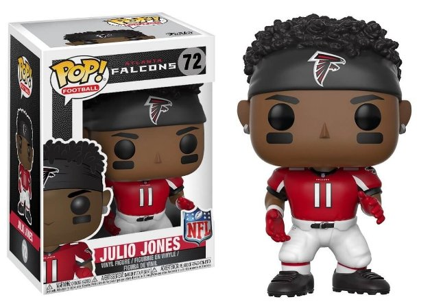Funko POP! NFL - Julio Jones #72 - Atlanta Falcons