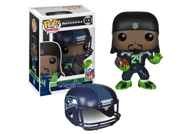 Funko POP! NFL - Marshawn Lynch - Seattle Seahawks #03
