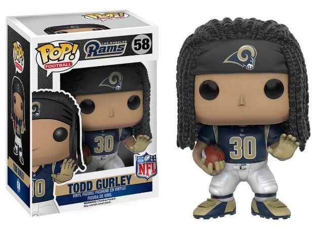Funko POP! NFL - Todd Gurley #58 - Los Angeles Rams