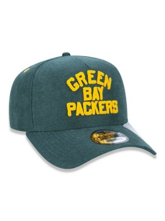 Boné 940 New Era NFL Green Bay Packers Mescla Verde
