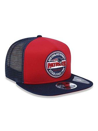 Boné 950 New Era NFL New England Patriots Vermelho/Marinho