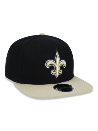 Boné 950 New Era NFL New Orleans Saints Preto