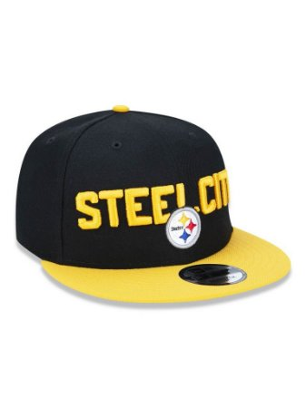Boné 950 New Era NFL Pittsburgh Steelers Preto