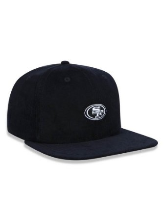 Boné 950 New Era NFL San Francisco 49Ers Preto