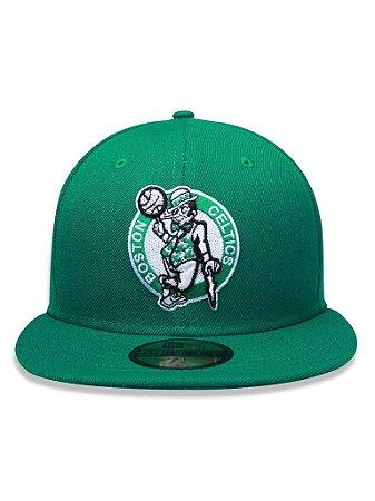 Boné New Era 5950 Boston Celtics Verde