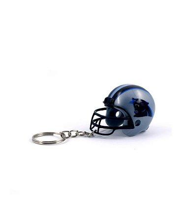 Chaveiro Capacete NFL - Carolina Panthers