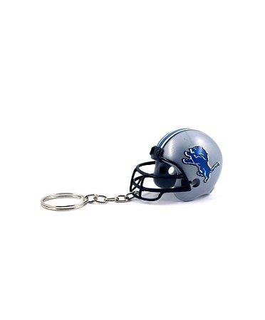 Chaveiro Capacete NFL - Detroit Lions