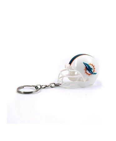Chaveiro Capacete NFL - Miami Dolphins