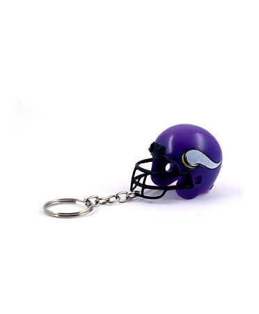 Chaveiro Capacete NFL - Minnesota Vikings